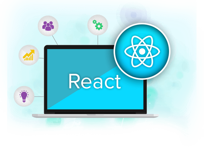 React JS Mobile App Development Services section