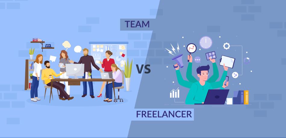 Team Vs Freelancers